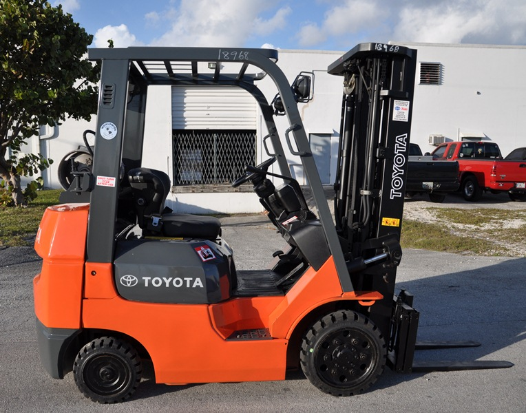 Used Toyota Forklift Sales Home Page